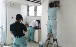 建物内装クリーニング